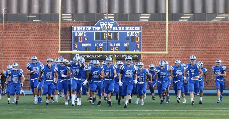 Dukes Take Field
