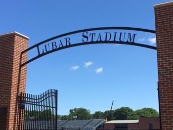 Lubar Stadium Arch