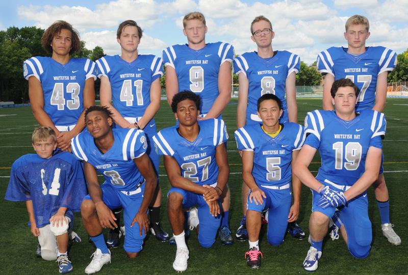2016 Varsity Football Seniors