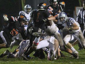 | Final: Dukes 7 Hartford Union 28
