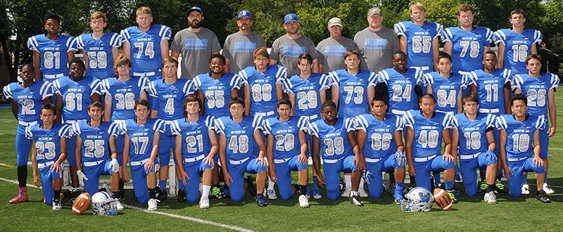 2016 Whitefish Bay Junior Varsity Football Team