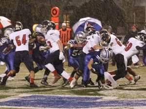 | Playoff Final: Dukes 27 Brookfield East 41