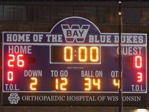 | Final: Dukes 26 Homestead 0