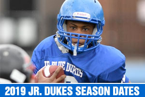 2019 Junior Dukes Season Dates