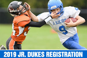 2019 Junior Dukes Season Registration