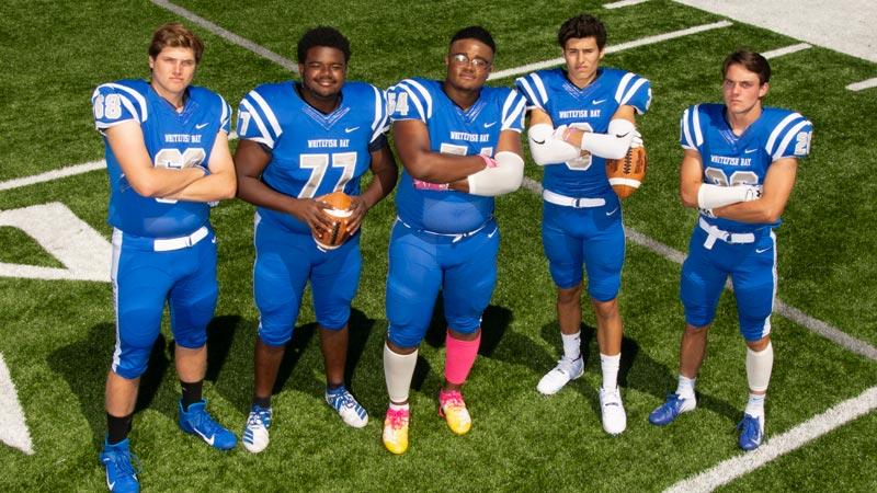 2019 Blue Dukes Varsity Seniors