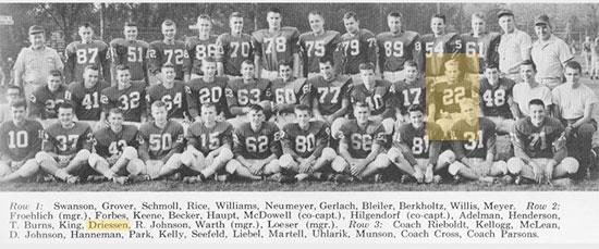 Joe Driessen: 1959